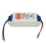 AC 90-240V 0.62A to DC 12V 4A 48W LED Power Driver - White  Orange