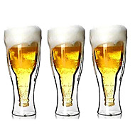 Beer Glass Double Creative 500Ml