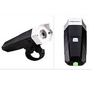 Radlichter - - Radsport Wasserdicht / mit Horn AAA * Lumen Batterie Naturweiß Radsport-Beleuchtung