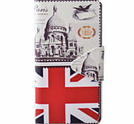 Flag Pattern PU Material New High-End Card Holder Phone Case For Samsung Galaxy J3 (2016) J5 J5 (2016)