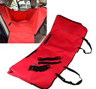 Cat / Dog Car Seat Cover Pet Travel Hammock Mat Waterproof / Foldable Fabric / Oxford Red / Black / Blue / Brown / Gray