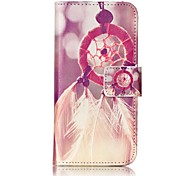 Campanula Strong Relief Colored Card Holder PU Material Leather for  iPhone 7 6s  SE 5s 5