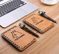 Cartoon Cartoon Wood Thin Diary