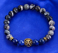 Bracelet Chain Bracelet Alloy Circle Fashion Casual Jewelry Gift Dark Blue1pc