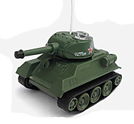 Carefree Cattle TanK - 7 8 Crawler Drive Mini Remote Control Charging Tanks 1:7 Off-Road Vehicles Children's Toys