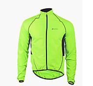 NUCKILY® Veste de Cyclisme Homme Manches longues Vélo Etanche / Pare-vent / Zip frontal / VestimentaireVeste / Coupe-vent /
