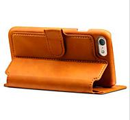 Per Custodia iPhone 7 / Custodia iPhone 7 Plus Porta-carte di credito / A portafoglio / Con supporto / Con chiusura magnetica Custodia