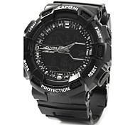 EXPONI 3230 Men's Fashion Sports Waterproof Shockproof LED Quartz Digital Military Watch