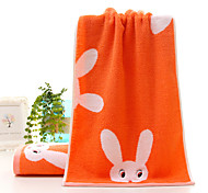 1 PC Full Cotton Hand Towel 13 by 29 inch Super Soft Strong Water Absorption Capacity Cartoon Pattern