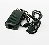 GM2402 48W 24V 2A EU Plug AC / DC Power Adapter for LED Light Strip - Black (100~240V)