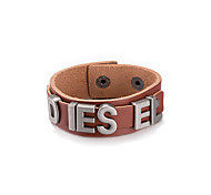 Bracelet Leather Bracelet Alloy