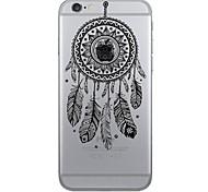 Für iPhone 7 Hülle / iPhone 7 Plus Hülle / iPhone 6 Hülle Muster Hülle Rückseitenabdeckung Hülle Traumfänger Weich TPU AppleiPhone 7 plus