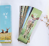 Boxed Bookmark Love Animal Deer(30PCS)