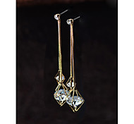 Women's Drop Earrings Crystal Fashion Alloy Jewelry Jewelry For Daily Casual