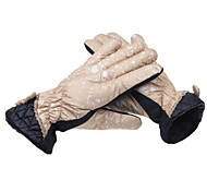 Lovely Fashion Ladies Bike Gloves Electric Vehicle Motorcycle Winter Gloves