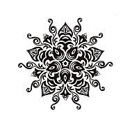 Mandala Flower Namaste Vinyl Sticker Art Decor Mandala For Home Decor Removable Mandala Wall Stickers