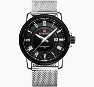 Masculino Relógio de Moda Quartz / Digital / Lega Banda Casual Preta marca