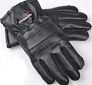 Пу мужские кожаные перчатки и удобрений в осенне-зимний мужской кожи утолщенной противоскользящие мотоцикл перчатки