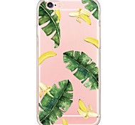 iPhone 7 7Plus Fruit Pattern TPU Ultra-thin Translucent Soft Back Cover for iPhone 6s 6 Plus 5s 5 5E