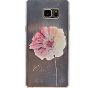 Sonnenblumenmuster mit hoher Permeabilität tpu Material Telefonkasten für Samsung Galaxy Note 5