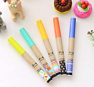 Suprimentos de correção Caneta Recargas Caneta Barril Cores Aleatórias cores de tinta For material escolar Material de escritórioPacote