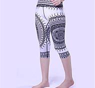 Yoga Pants 3/4 TightsBreathable  Quick Dry  Anatomic Design  Anti-skiddingNon-SkidAntiskid  Protective  Sweat-wicking