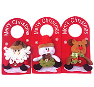1PC Christmas Door Hang Christmas Decorations Add Christmas Christmas Decorations(Style random)