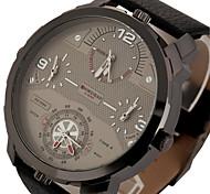 Мужской Спортивные часы Армейские часы Модные часы Наручные часы Календарь Защита от влаги С тремя часовыми поясами Панк С автоподзаводом
