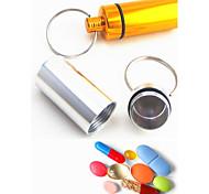 Porta-Chaves Forma Cilindrica Alta qualidade Porta-Chaves / Multifunções Arco-Íris Metal / alumínio
