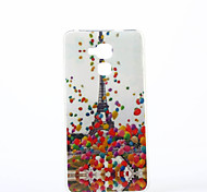 Balloon Tower Pattern TPU IMD Soft Case for Huawei Honor 7 5C 5X 4A V8 Y560