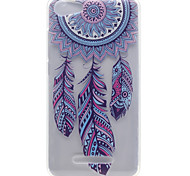 Wind Chimes Pattern High Permeability TPU Material Phone Shell For Wiko Lenny 2 Lenny 3 Pulp Fab 4G