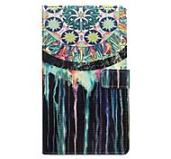 For iPhone 7 Case / iPhone 6 Case / iPhone 5 Case Wallet / Card Holder / with Stand / Flip / Pattern Case Full Body Case Dream Catcher