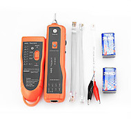 RJ11 RJ45 Cat5 Cat6 Telephone Wire Tracker Tracer Toner Ethernet LAN Network Cable Tester Detector Line Finder