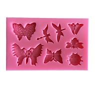 1 Horneando Ecológico / Nueva llegada / Gran venta / De Armar / 3D / Alta calidad Pastel Plástico Moldes para horno