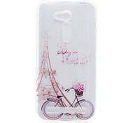 Tower Pattern High Permeability TPU Material Phone Shell For ASUS ZB551KL ZB452KG