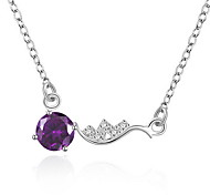 Euramerican Women Fashion Alloy Silver Necklace