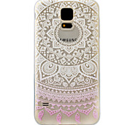 For Samsung Galaxy S7 S6 S5 Edge Case Cover Gradient Lace Pattern Painting Super Soft TPU Material
