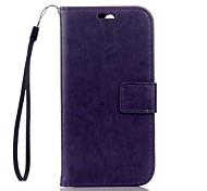Per Custodia HTC A portafoglio / Porta-carte di credito / Con supporto Custodia Integrale Custodia Tinta unita Resistente Similpelle HTC