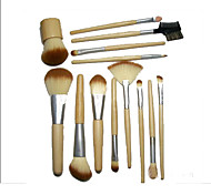 13 Makeup Brushes Set Synthetic Hair Portable Face  G.R.C