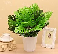 1 1 Филиал Шелк Pастений Букеты на стол Искусственные Цветы 45CM