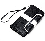 For iPhone 7 Case / iPhone 7 Plus Case / iPhone 6 Case Wallet / Card Holder / Flip Case Full Body Case Lines / Waves Hard PU Leather Apple