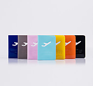 PVC Travel Passport Holder & ID Holder Waterproof / Dust Proof / Portable Travel Storage PU Leather