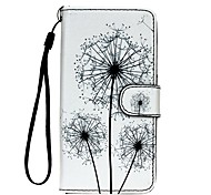 For Samsung Galaxy S7 S7 Edge Dandelion PU Leather Wallet S5 S6