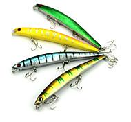 1 pc Esca Vibrazione Colori casuali 14 g Oncia mm pollice,Plastica dura Pesca a mulinello