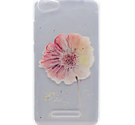 A Flower Pattern High Permeability TPU Material Phone Shell For Wiko Lenny 2 Lenny 3 Pulp Fab 4G