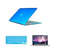 2016 топ продажи ПВХ Macbook чехол с клавиатурой и крышкой Flim экрана для Macbook Pro 13,3 дюйма