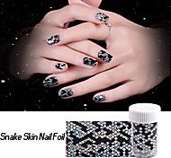 1roll Nail Art Sticker Adesivi 3D unghie makeup Cosmetic Nail Art Design