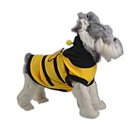 Cute Bee Pattern Costume Clothes for Pets Dogs