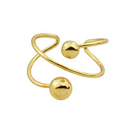Fashion Fancy Style Metal Cuff Band Rings for Women