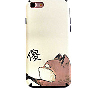 Para Funda iPhone 7 / Funda iPhone 7 Plus Diseños Funda Cubierta Trasera Funda Gato Suave TPU Apple iPhone 7 Plus / iPhone 7